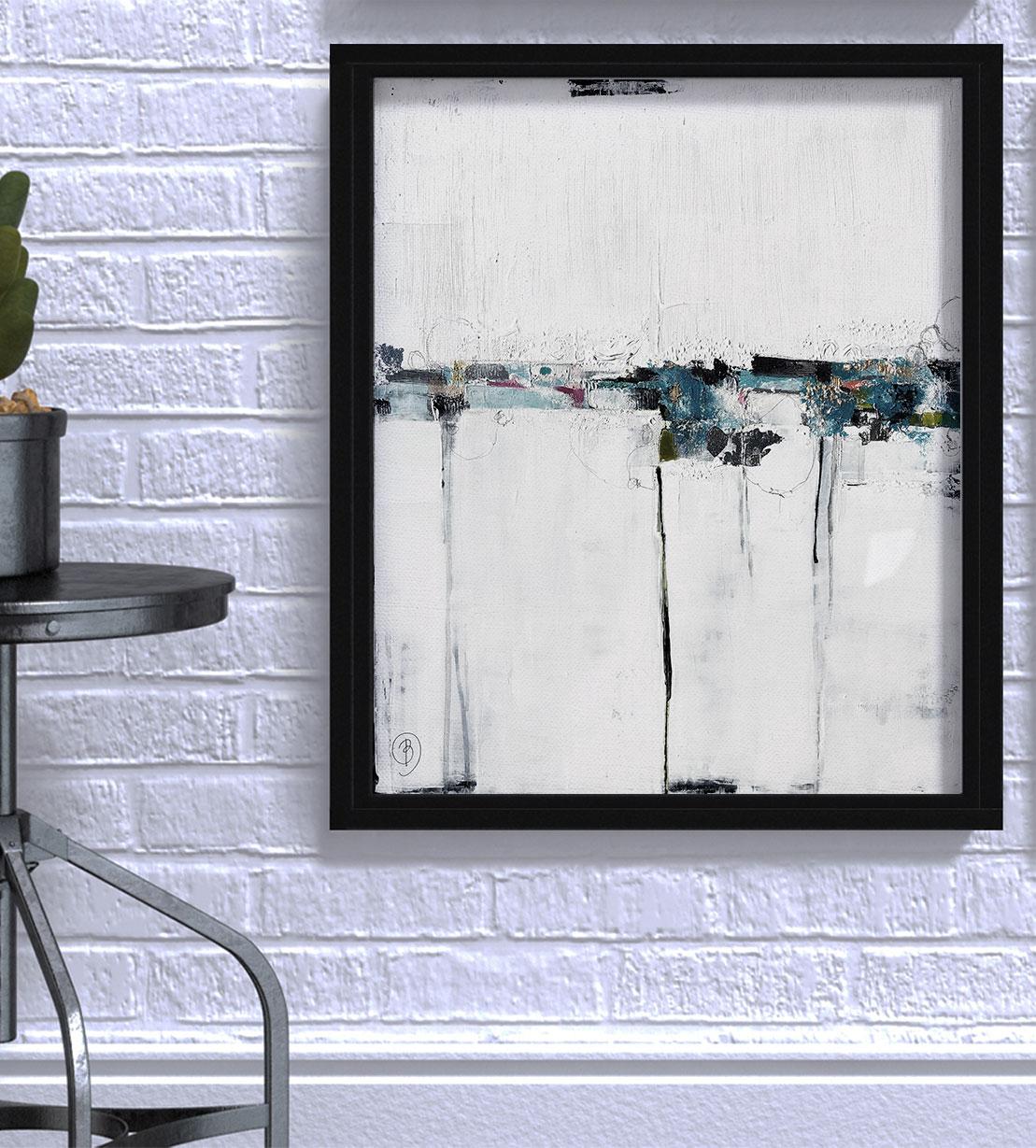Galerie Don Carli Lau Blou L'explosion 61x50cm