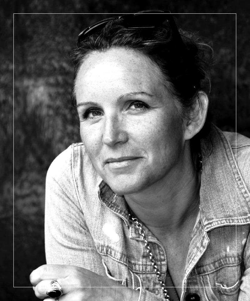 Lau Blou artiste portrait Galerie DonCarli
