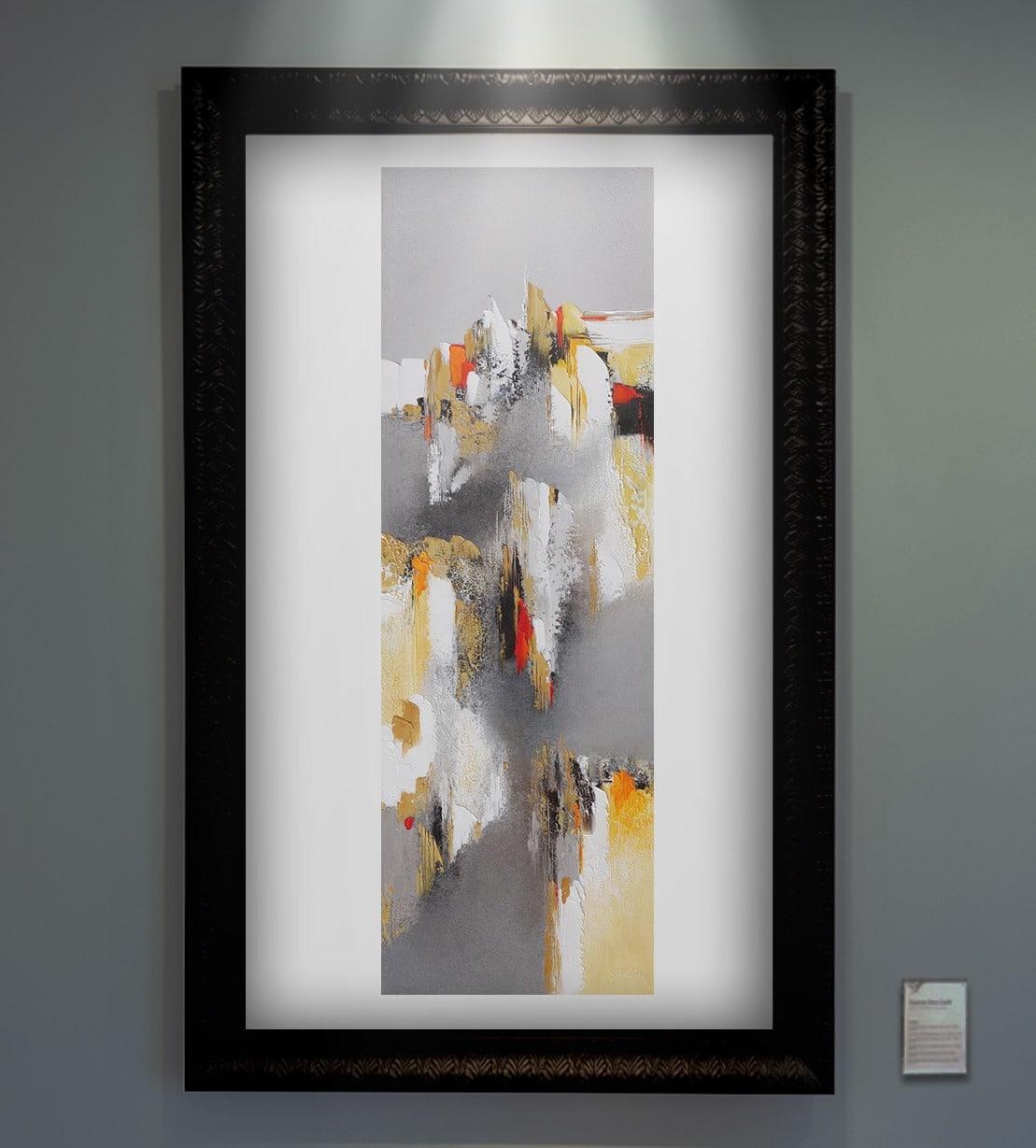 Dominique œuvre abstraite Don Carli Lyon