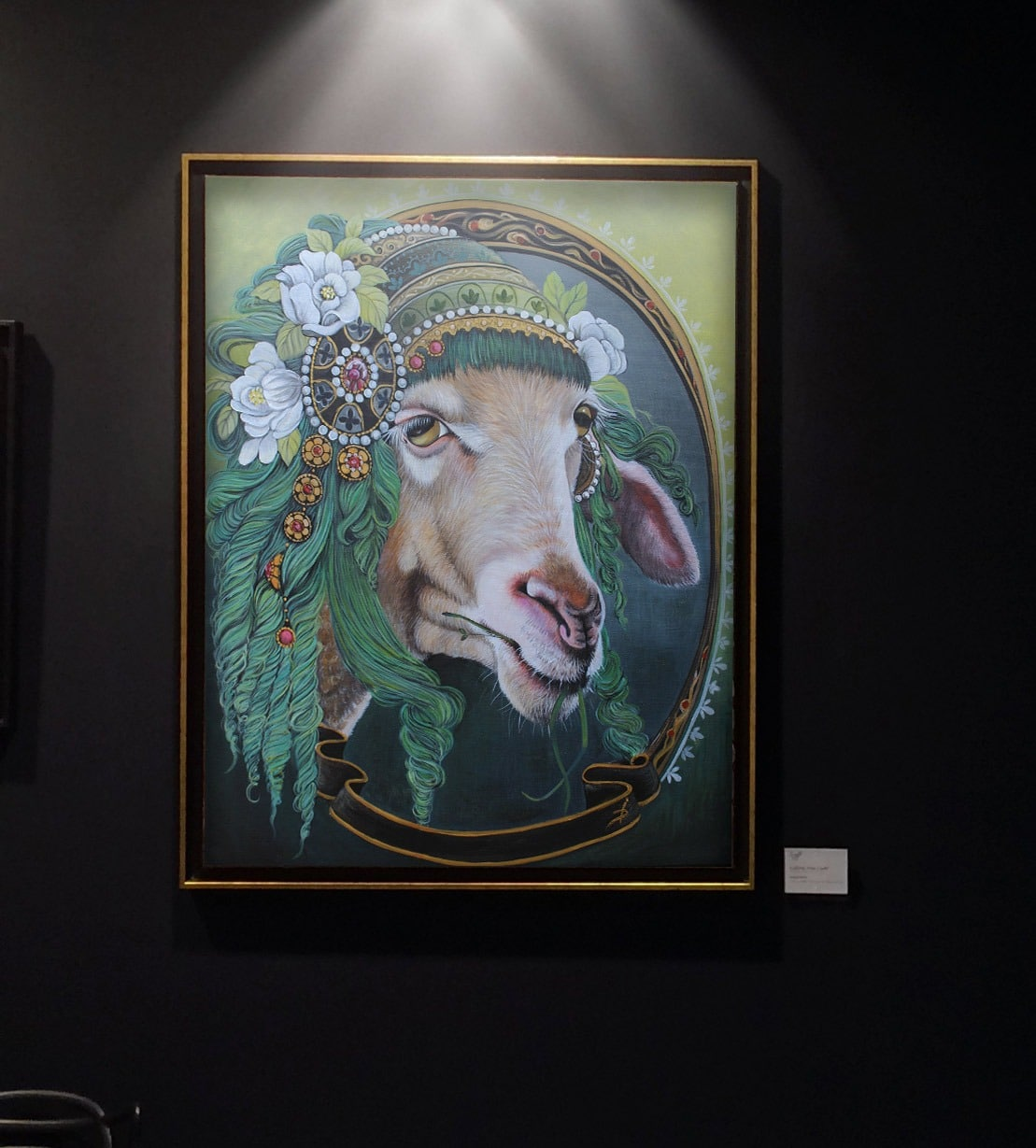 Isabelle Dubuis Chlorophylle Galerie d'art Don Carli