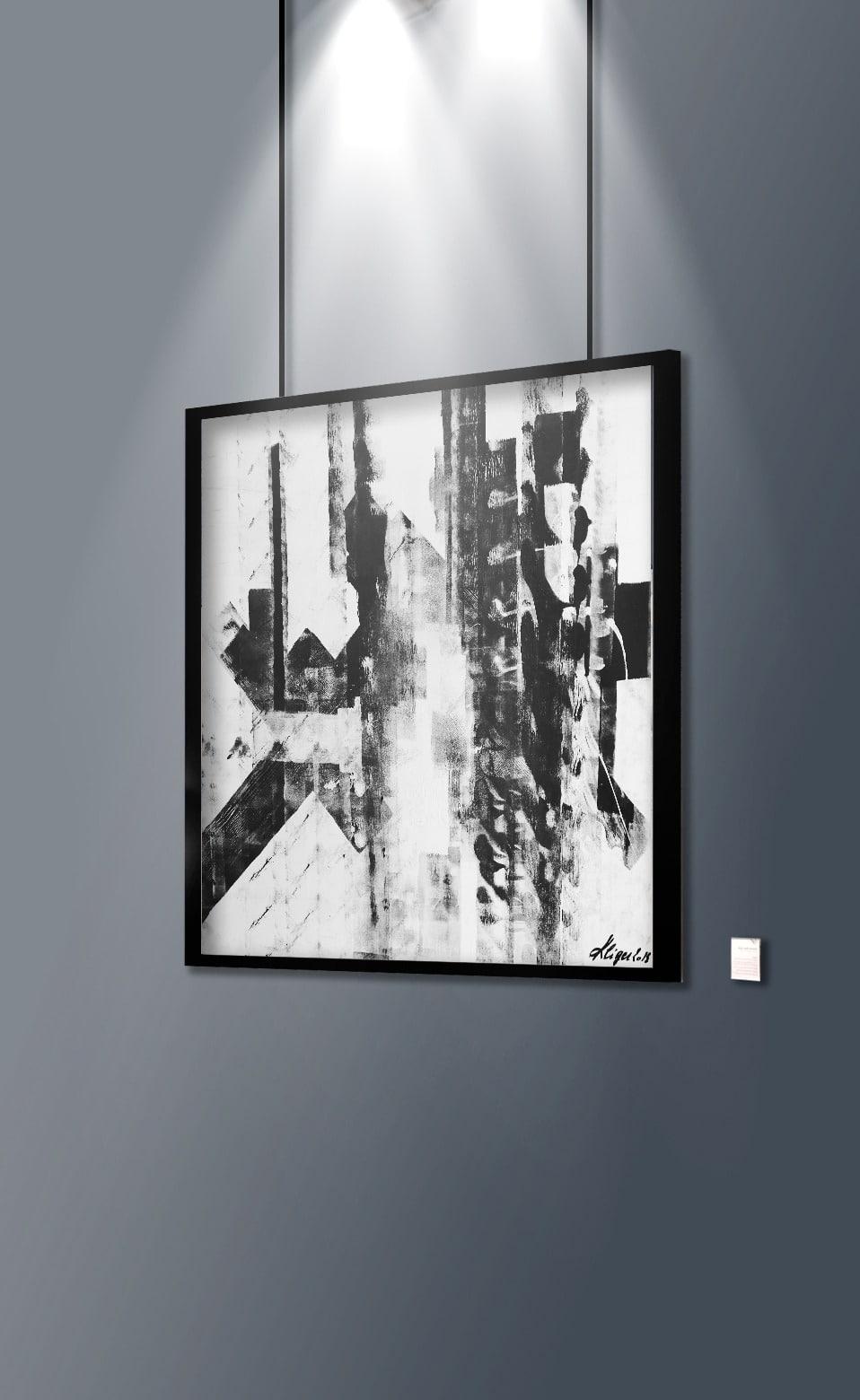 Kliger Galerie Don Carli Lyon Artiste abstrait