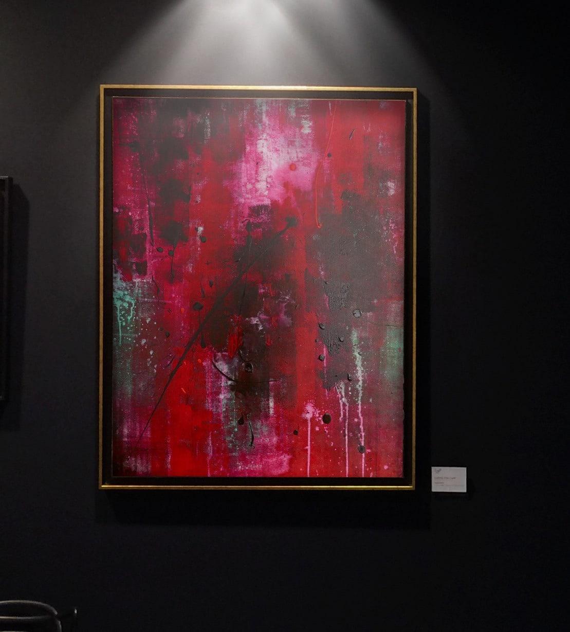 Kliger Art Abstrait Galerie Don Carli Lyon
