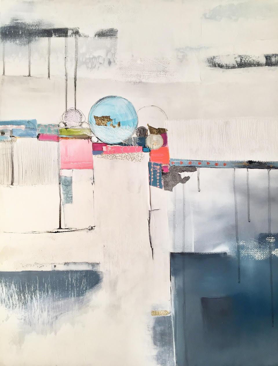 Lau Blou L'astre Don Carli Peinture abstraite