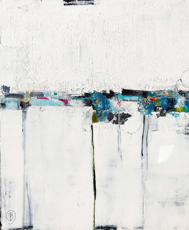 Lau BLOU L'Explosion Peinture abstraite Galerie Don Carli