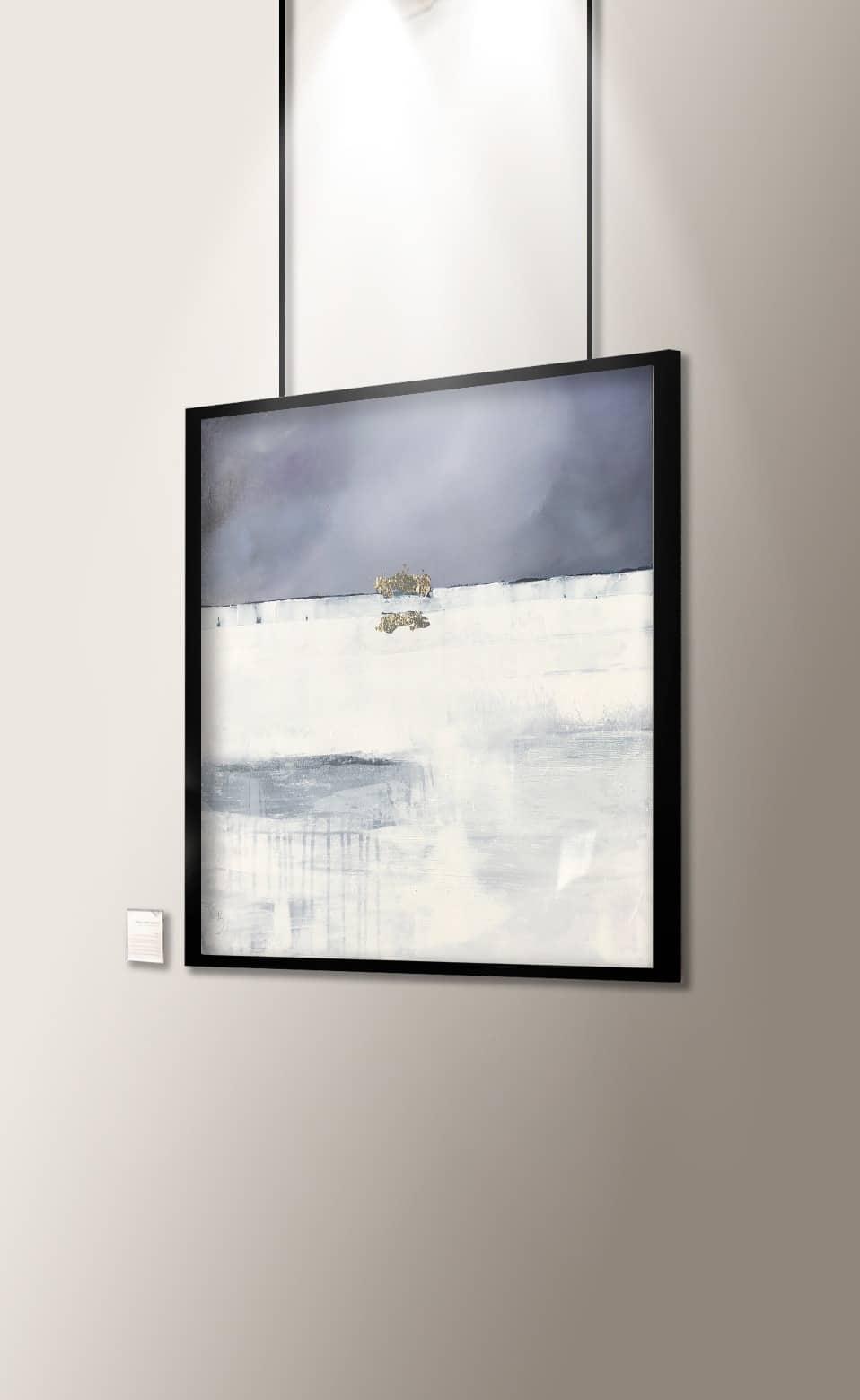 Peinture abstraite Oublier DonCarli