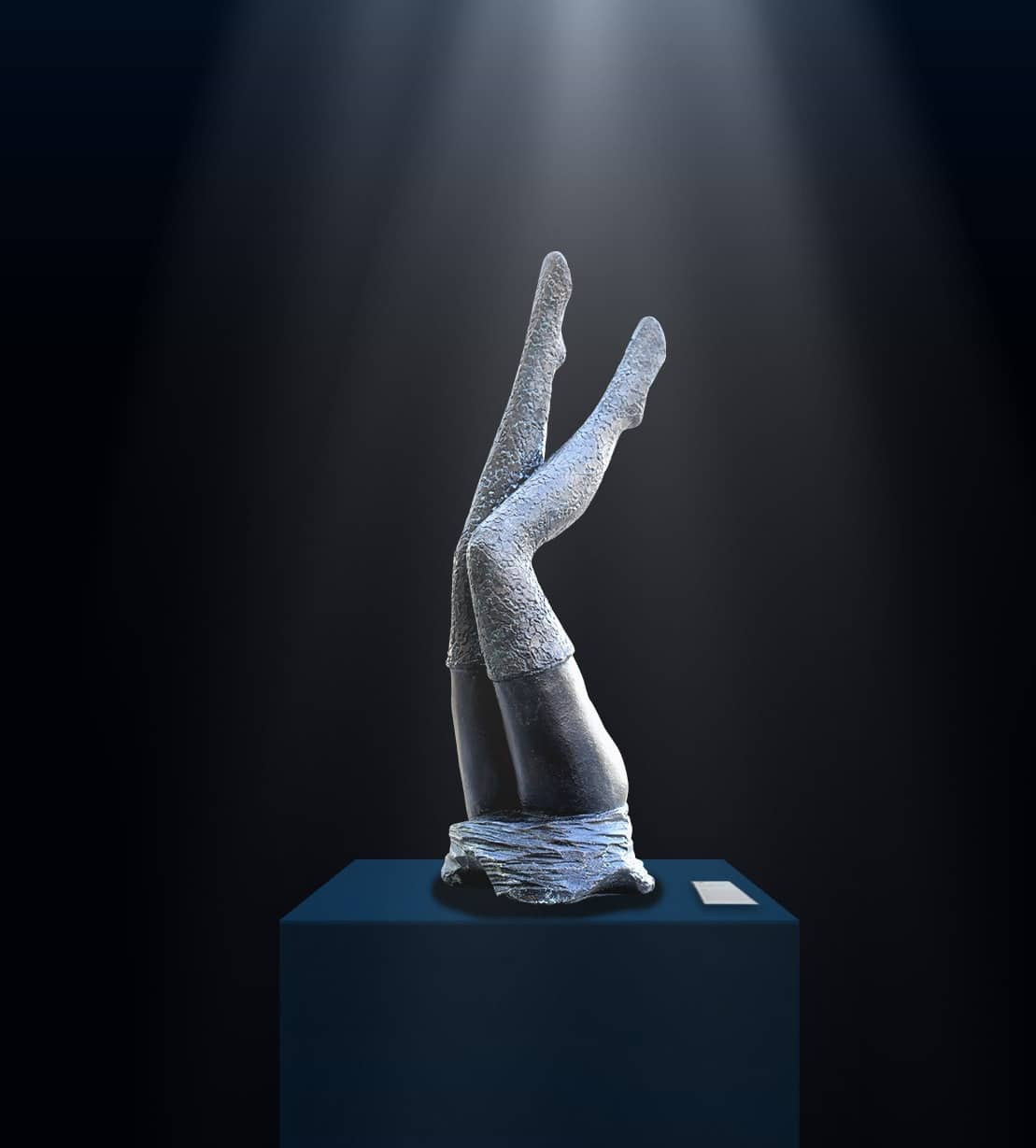 Véronique Vantesone Dentelle Statue