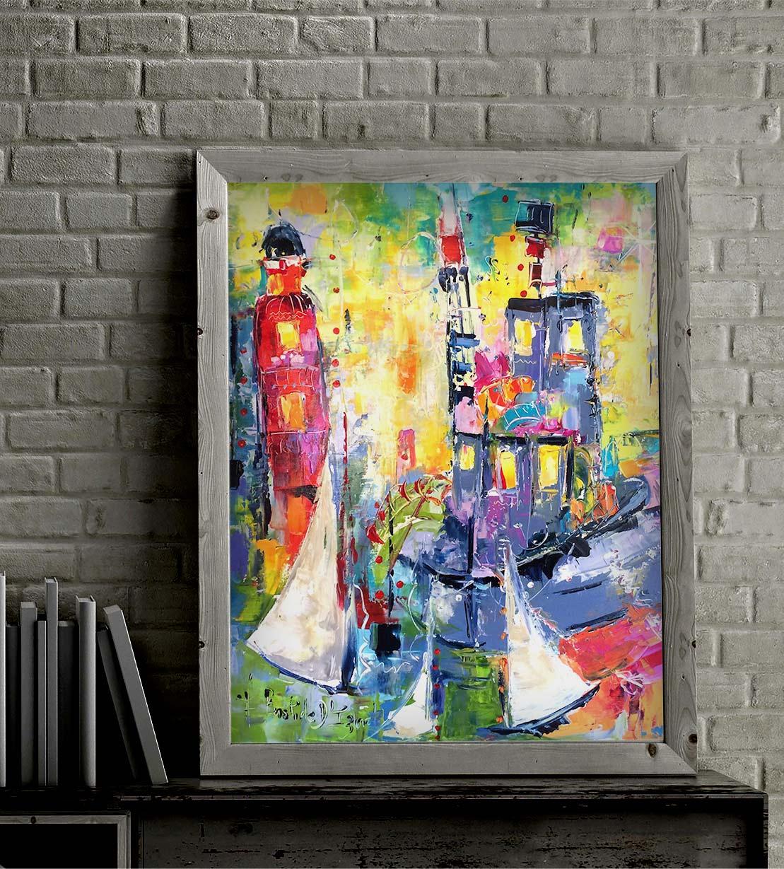 Armelle Bastide d'Izard Galerie DonCarli Abstrait