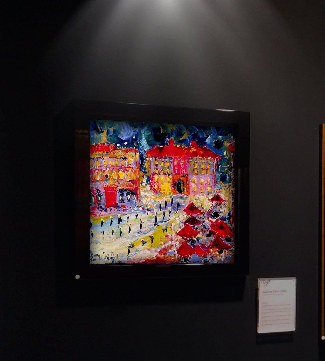 Armelle Bastide d'Izard Galerie DonCarli Lyon Abstrait