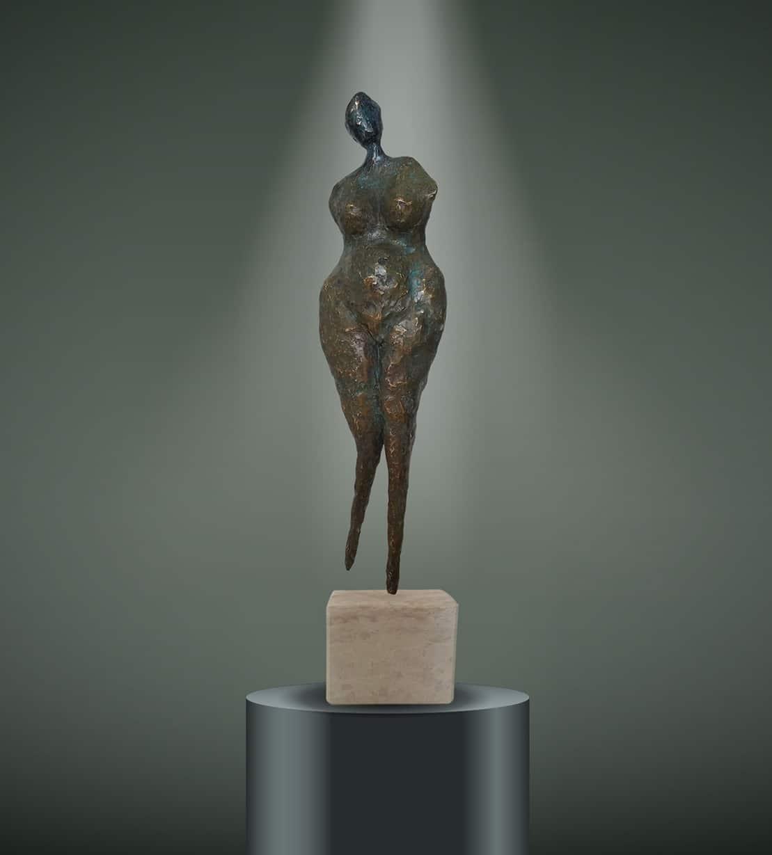 Labradorite sculpture Vantesone Galerie Don Carli