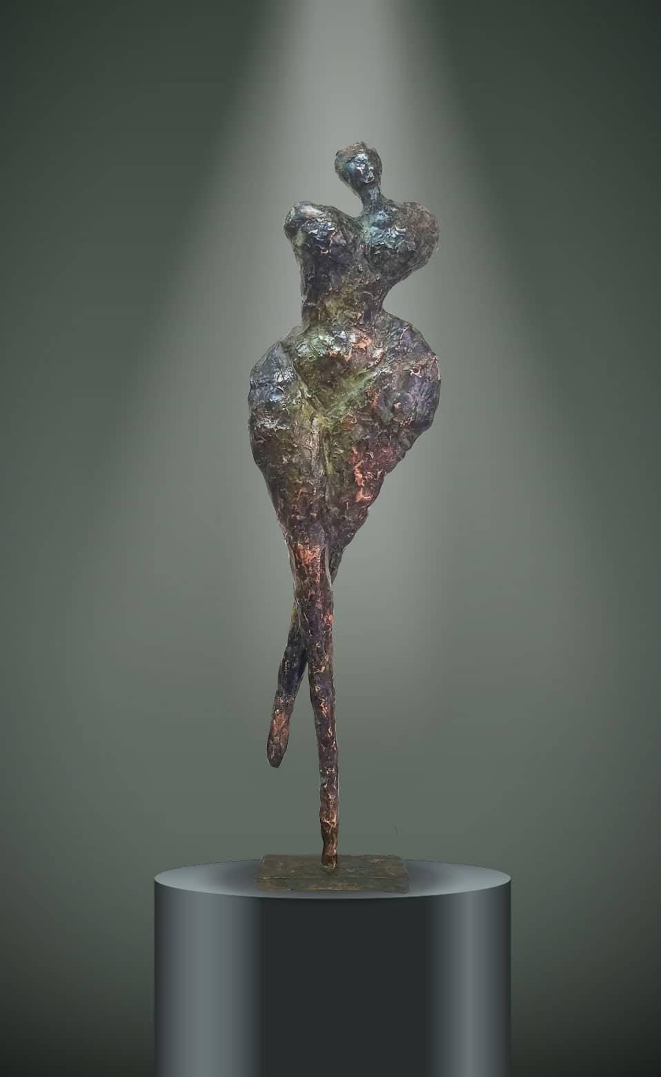 Sculpture Galène Véronique Vantesone