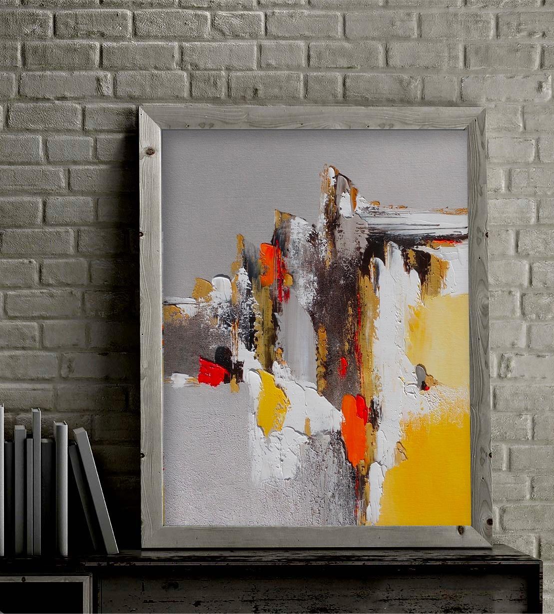 Dominique Mylène Gaultier Journée d'automne peinture