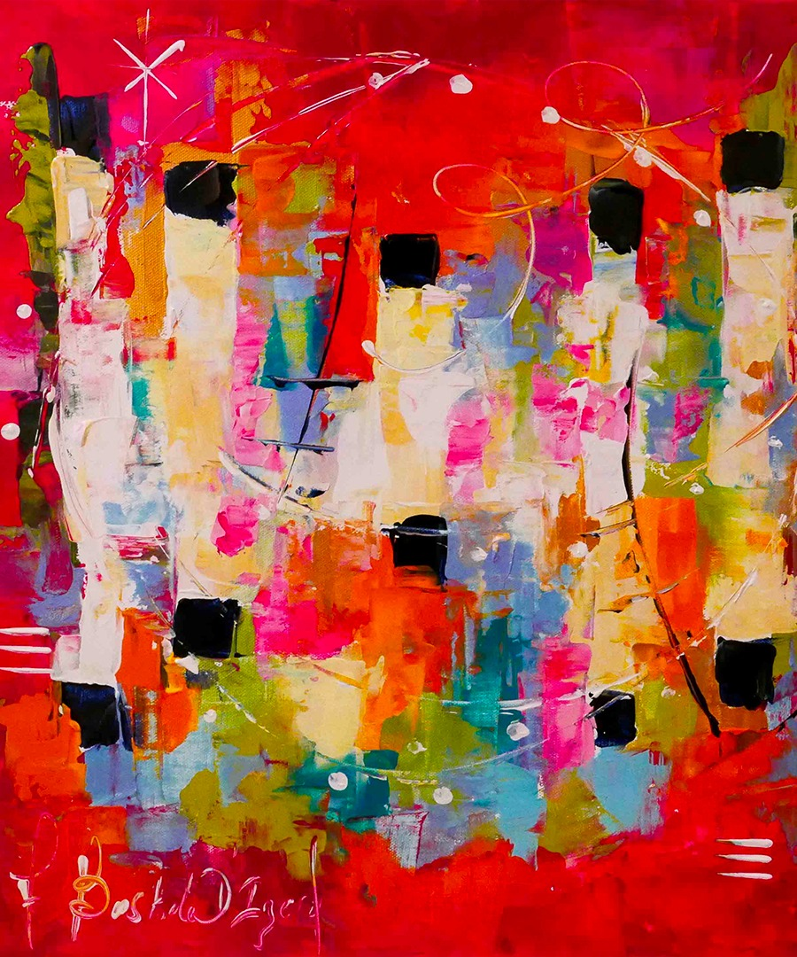 Armelle Bastide d'Izard Gaya peinture abstraite