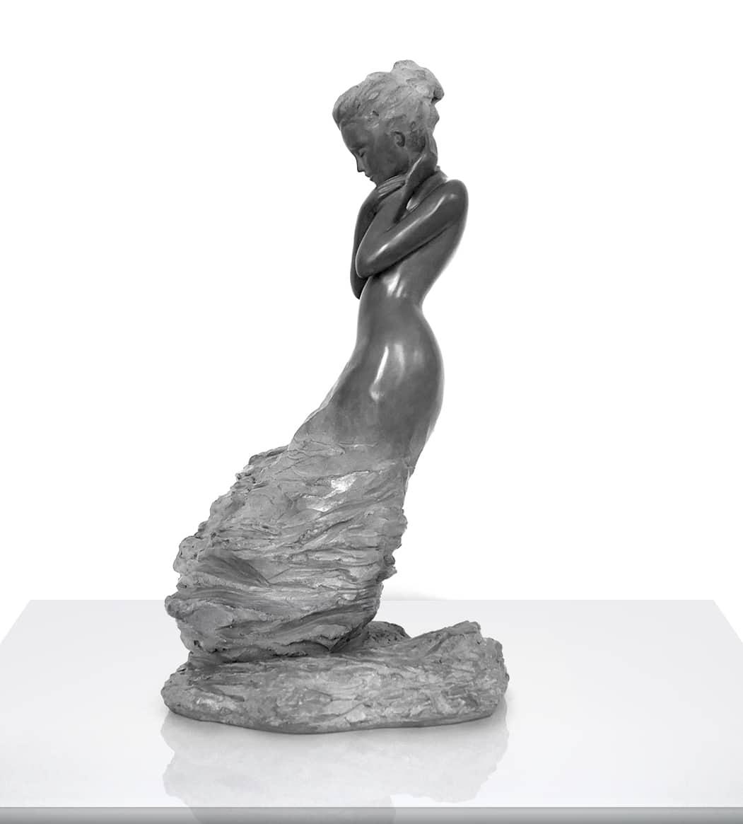 Delphine Rondeau sculpture Lydwine