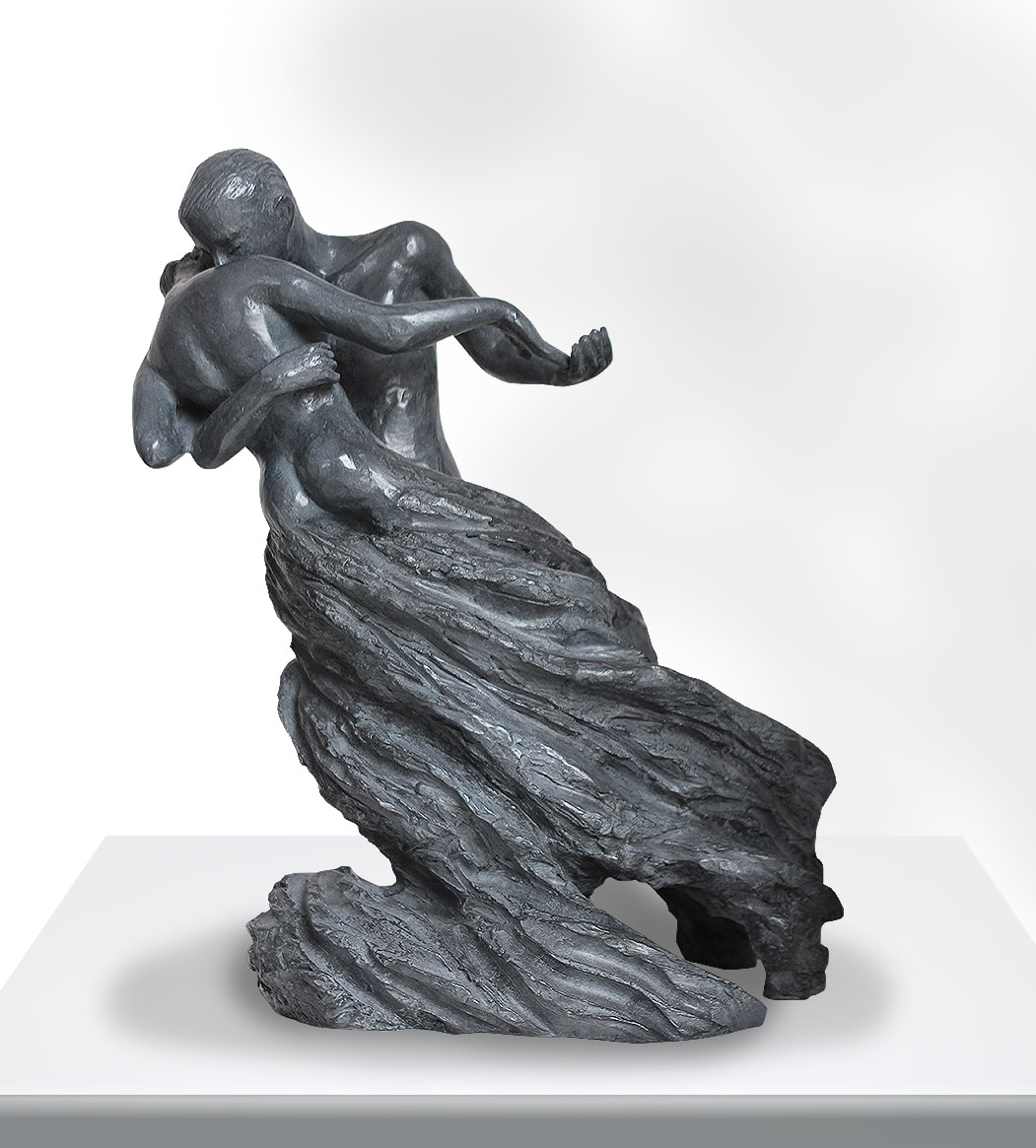 Delphine Rondeau sculpture Les Valseurs