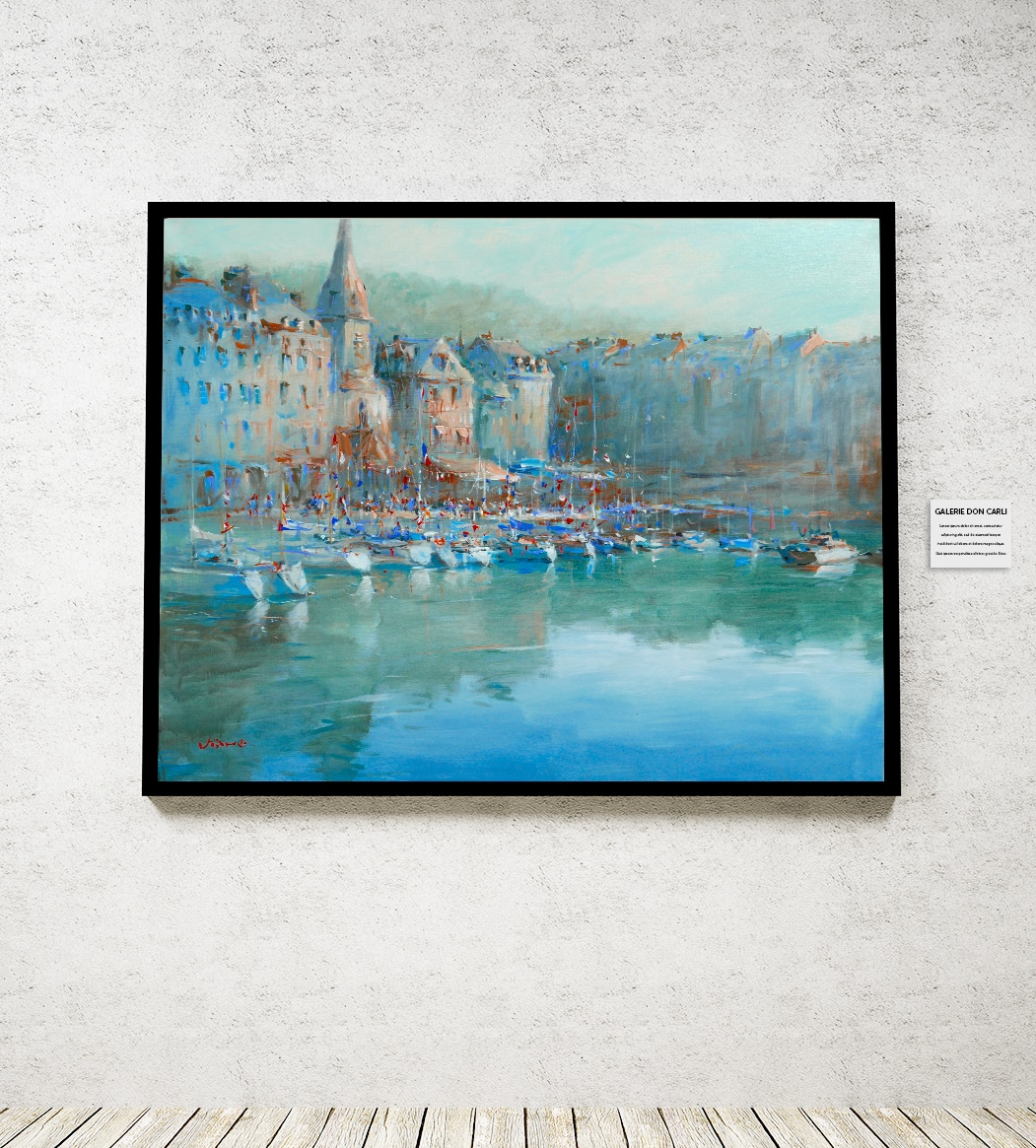 Galerie-Don Carli Van Tame Honfleur In The Morning