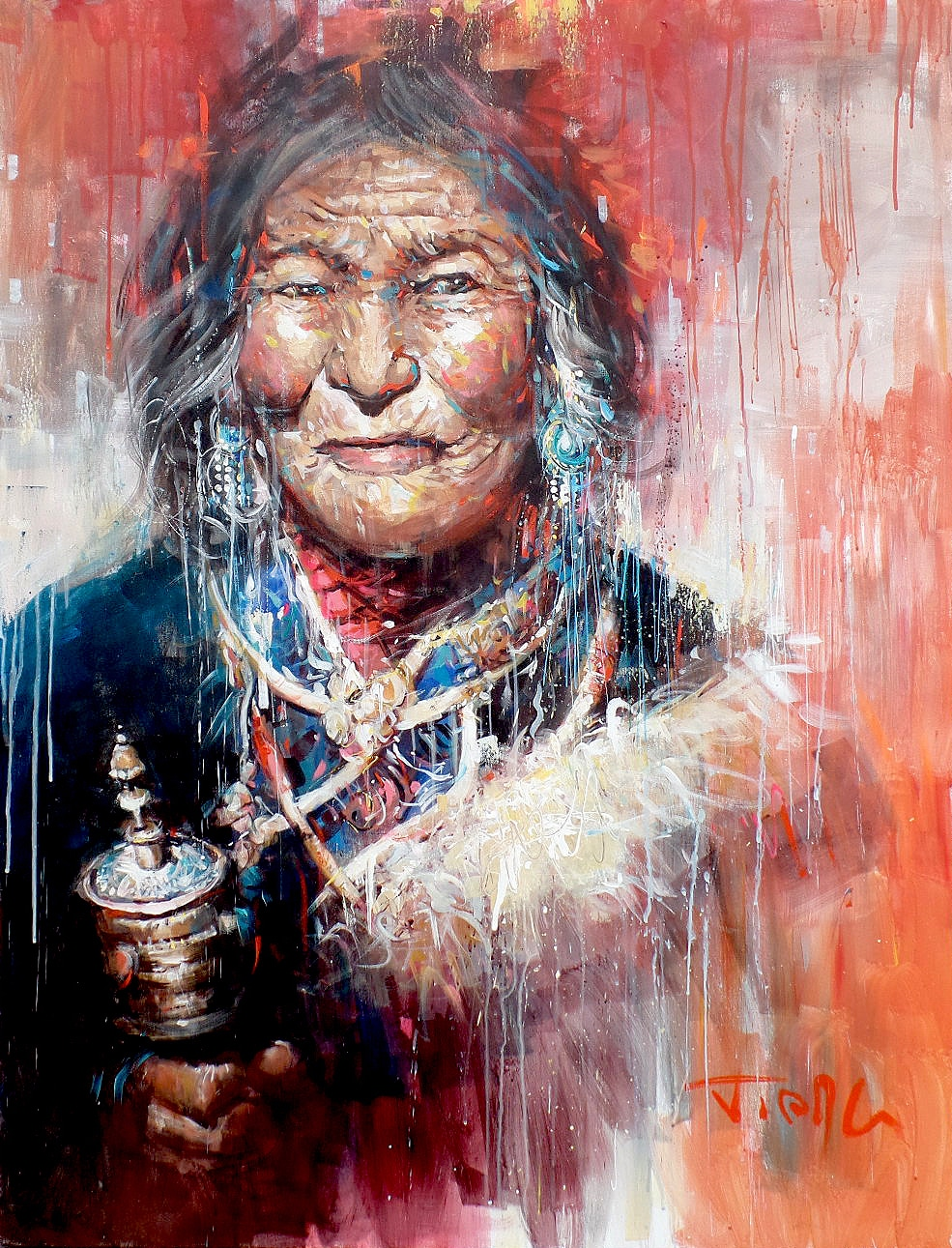 Galerie Don Carli Van Tam Wisdom