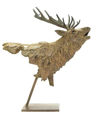 Le brame Pierre-Jean CHABERT sculpture art