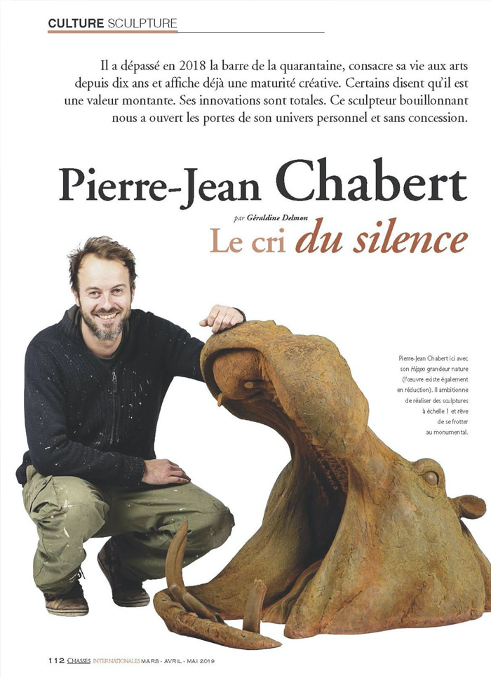 Pierre-Jean habert Le cri du silence