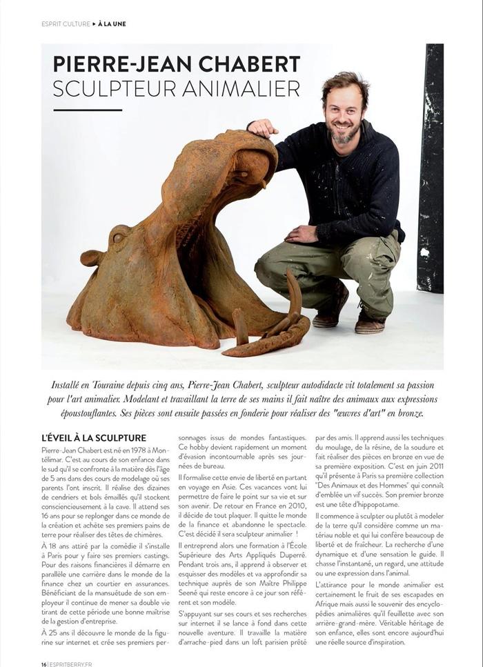 Pierre-Jean Chabert article Esprit Berry 2019