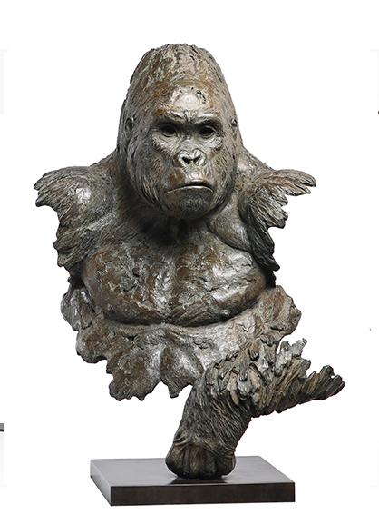 Buste gorille Chabert