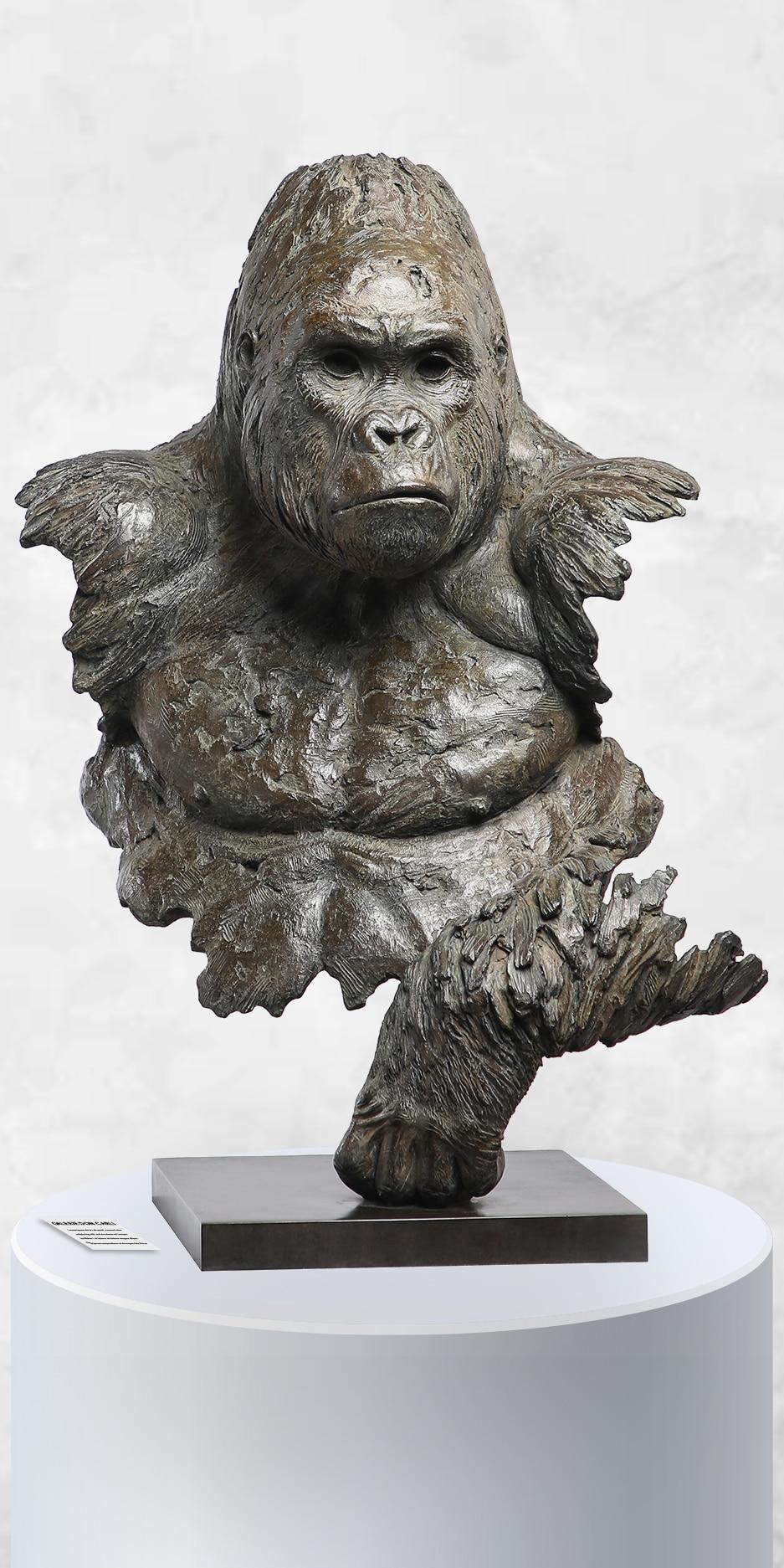 Sculpture gorille Alpha Chabert galerie d'art Don Carli