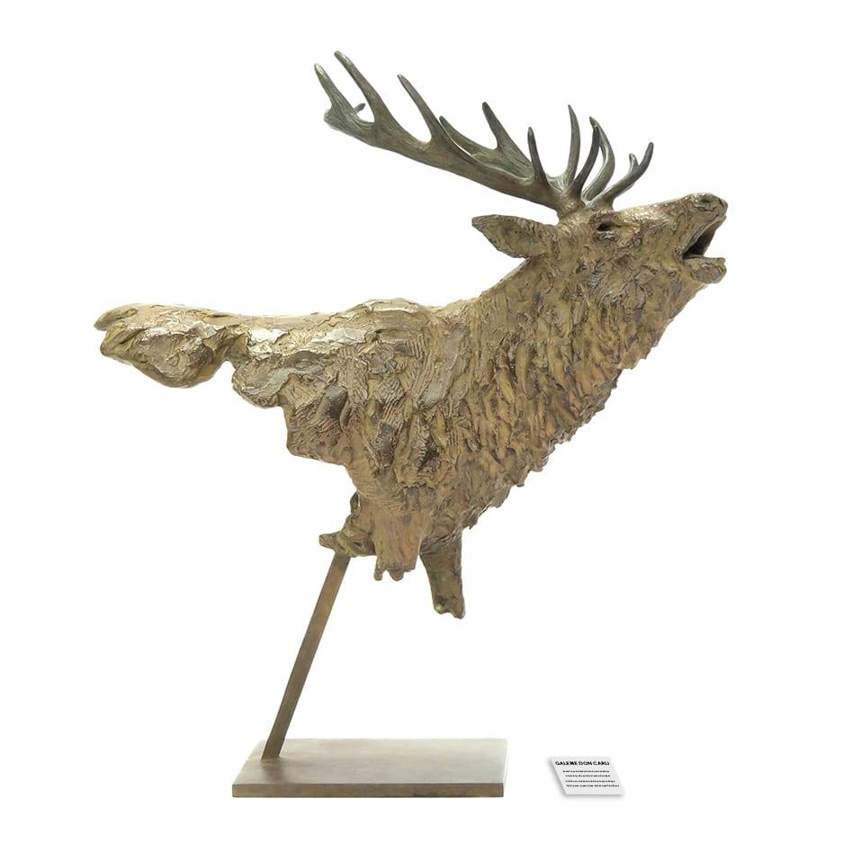 Sculpture renne Pierre-Jean Chabert Galerie Don Carli