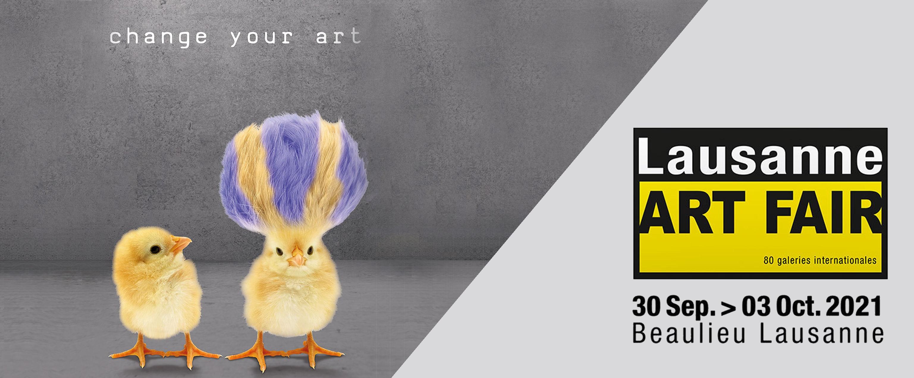 Lausanne Art Fair Galerie Don Carli Lyon 2021